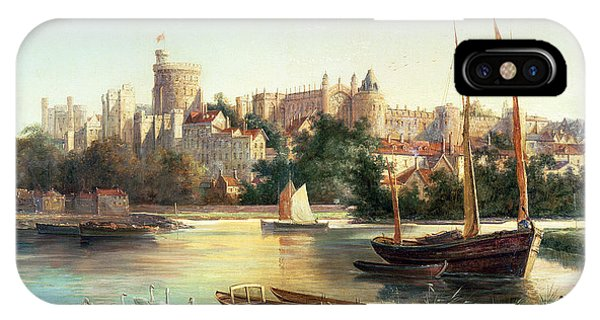 Palace iPhone Case - Windsor From The Thames   by Robert W Marshall
