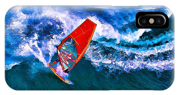 Windsurfer 1 IPhone Case