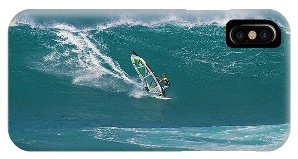 Windsurfer At Hookipa, Maui IPhone Case