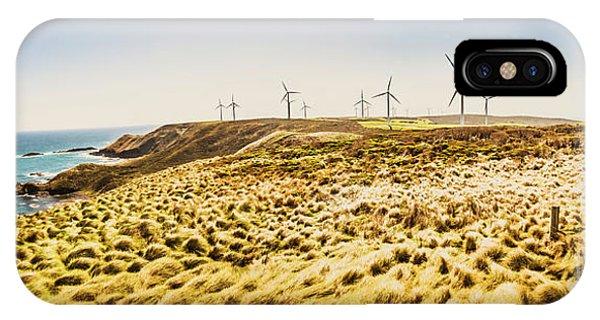 Energy iPhone Case - Windswept Tasmania by Jorgo Photography - Wall Art Gallery