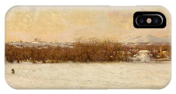 Jervis iPhone Case - Windy Day After A Snowstorm by Jervis McEnte