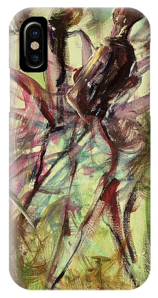 Harlem iPhone Case - Windy Day by Ikahl Beckford