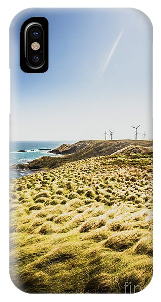 Industry iPhone Case - Windy Meadows by Jorgo Photography - Wall Art Gallery