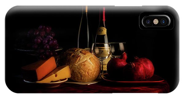 Swiss iPhone Case - Wine And Dine by Tom Mc Nemar