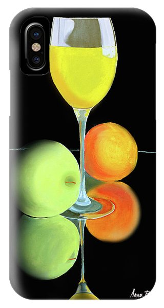 Wine And Fruit IPhone Case