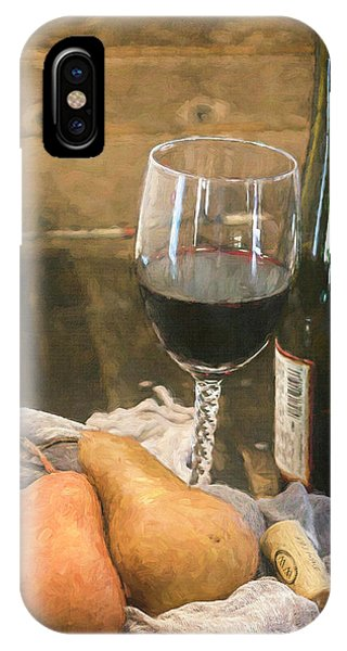 Wine And Pears IPhone Case
