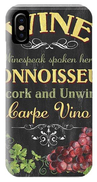 Vino iPhone Case - Wine Cellar 2 by Debbie DeWitt