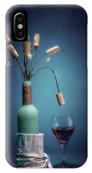 Vino iPhone Case - Wine Cork Bouquet by Tom Mc Nemar
