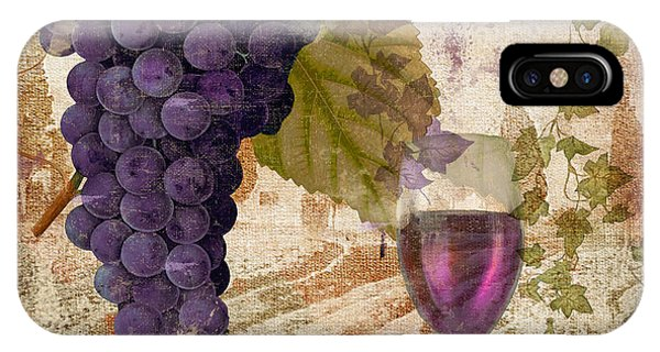 Wine Country Provence IPhone Case