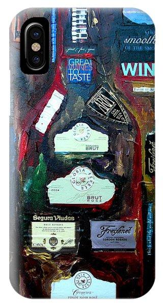 Wine Enthusiast IPhone Case