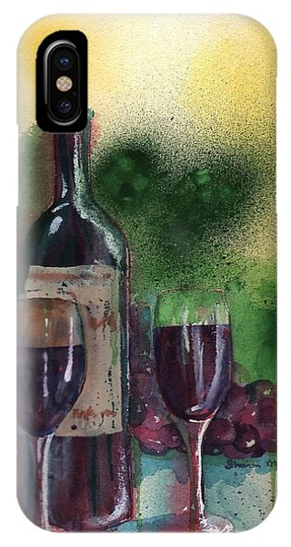Wine For Two IPhone Case