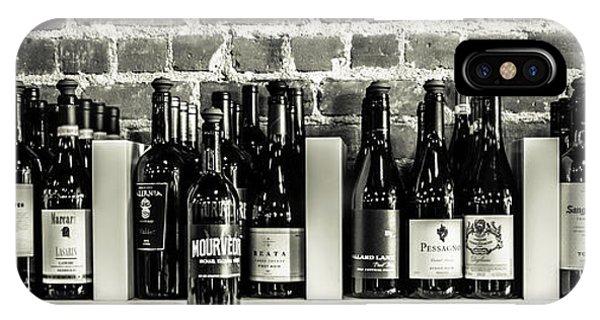 Wine Iv IPhone Case