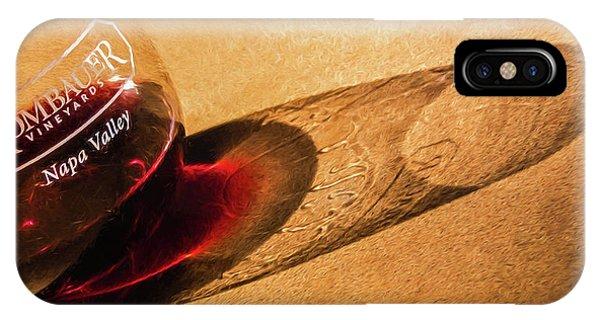 Wine Legs Of Napa Valley IPhone Case