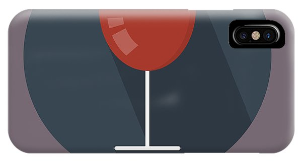 Wine Poster Print - It's Winesday IPhone Case