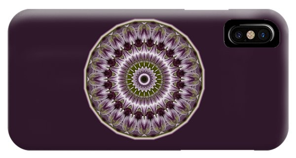Wine Roses And Thorns IPhone Case