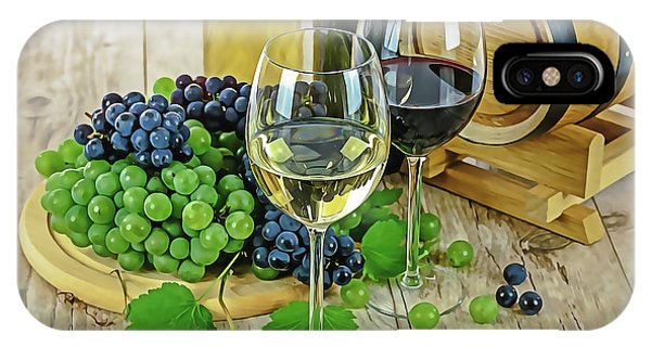 iPhone Case - Wine Tasting by Harry Warrick