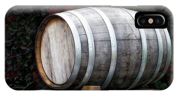 Winery Wine Barrel IPhone Case