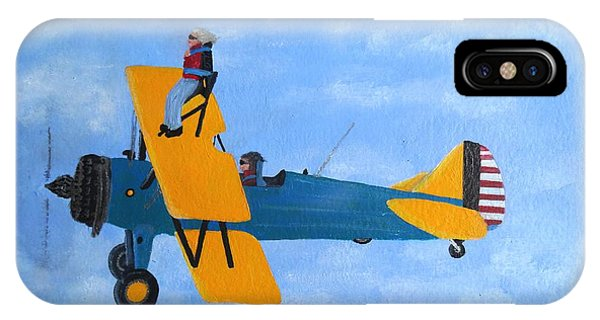 Wing Walker IPhone Case