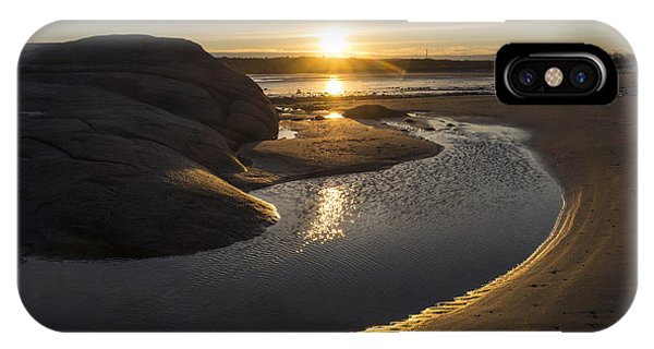 Wingaersheek Beach Sunrise Gloucester Ma IPhone Case