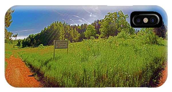 Wingate, Prairie, Pines Trail IPhone Case