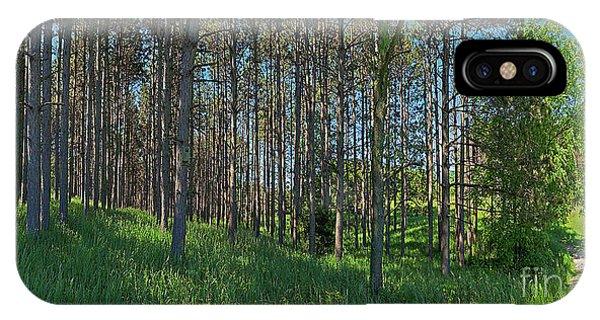 Wingate Prairie Veteran Acres Park Pines Crystal Lake Il IPhone Case