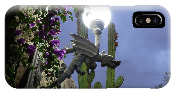 Winged Gargoyle In El Fuerte IPhone Case