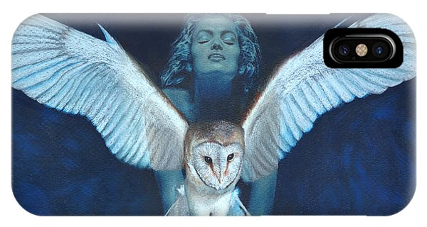 Winged Heart IPhone Case