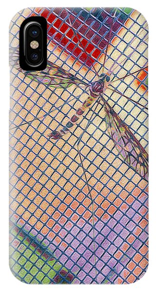 Winged Insect. IPhone Case
