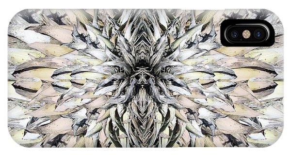 Winged Praying Figure Kaleidoscope IPhone Case