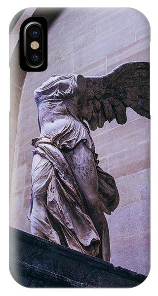 Winged Victory Of Samothrace IPhone Case