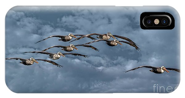 Wings In Formation IPhone Case