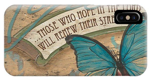 Verse iPhone Case - Wings Of Hope by Debbie DeWitt
