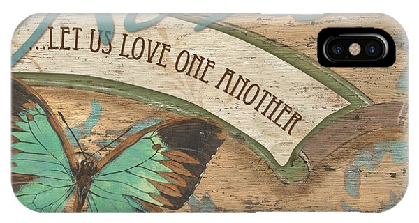 Wings Of Love IPhone Case