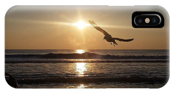 Wings Of Sunrise IPhone Case