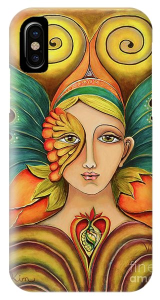 Divine Love iPhone Case - Wings To Fly by Kim Morris