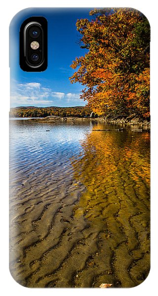 Winnisquam Fall IPhone Case
