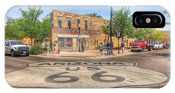 Winslow Arizona IPhone Case