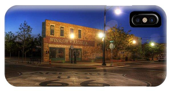 Arizona iPhone Case - Winslow Corner by Wayne Stadler