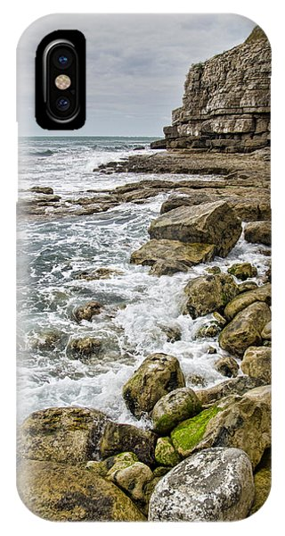 Winspit Cove In Dorset IPhone Case