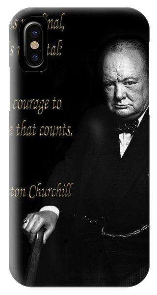 Winston Churchill 1 IPhone Case