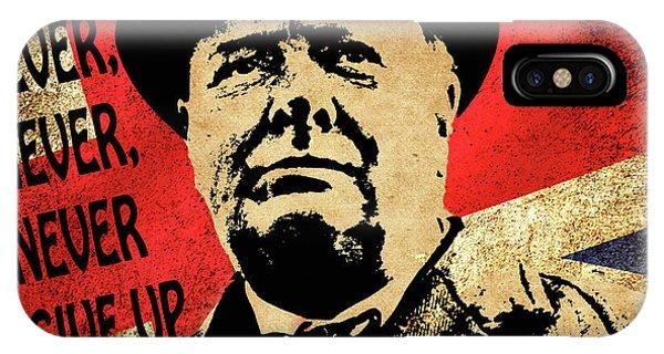 Winston Churchill 2 IPhone Case