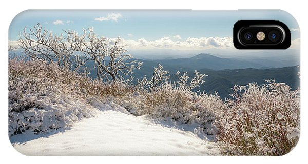 Winter Above The Land IPhone Case