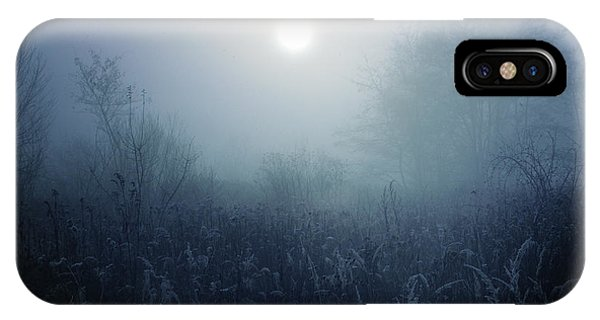 No People iPhone Case - Winter Afternoon - Poland by Cambion Art