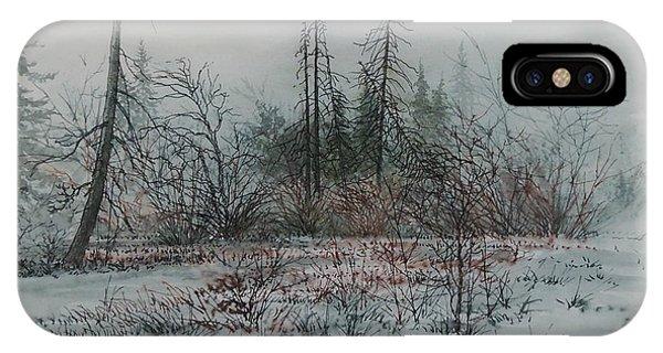 Winter, Alberta IPhone Case