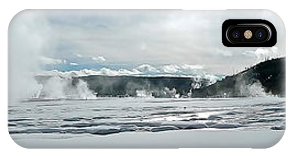 Winter At Grand Prismatic IPhone Case