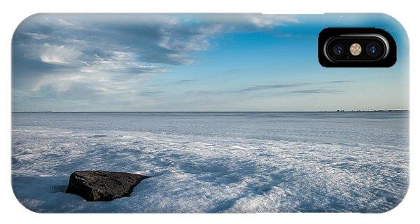 Winter Beach IPhone Case