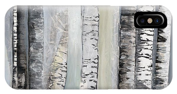 Winter Birches IPhone Case