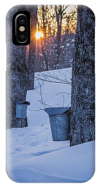 Winter Buckets IPhone Case