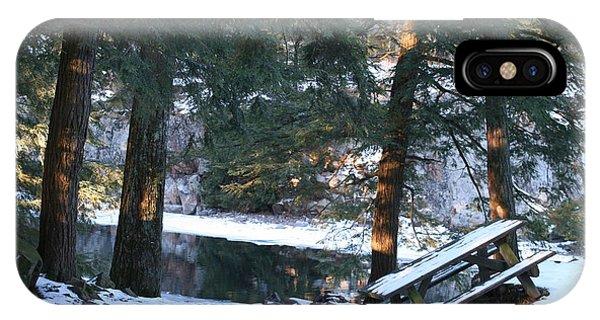 Winter Calm IPhone Case