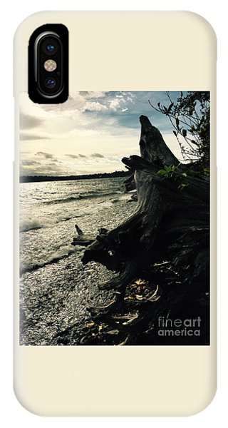 Winter Comes To The Sea IPhone Case